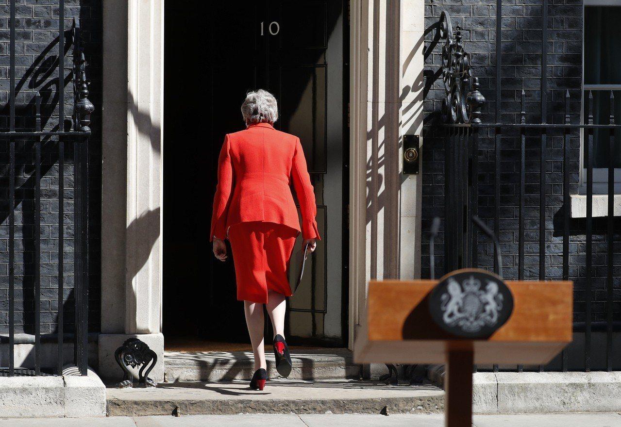 梅伊宣布辭去英國首相,保守黨新領袖7月底出爐。美聯社