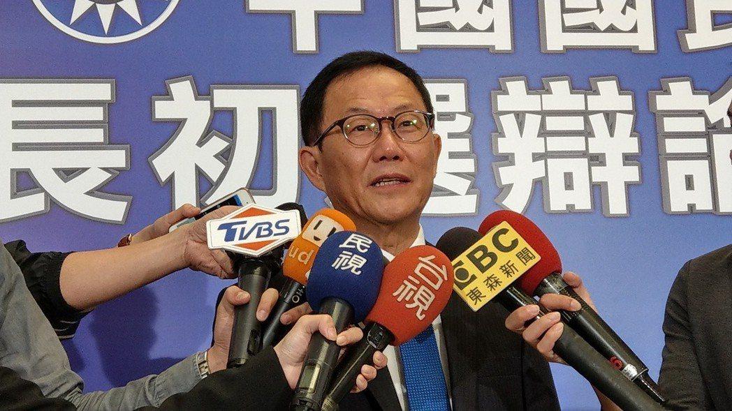 去年九合一選舉結束後,國民黨台北市長候選人丁守中提起選舉無效訴訟,台北地院5月1...