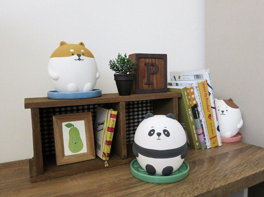 日本DECOLE除濕小幫手擁有多款超萌造型,可放置於鞋櫃或櫥櫃。圖/台隆手創館提...