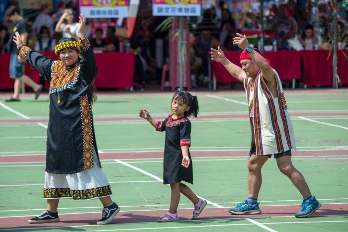 原住民族傳統文化祭儀在都會區得以傳揚保存。 圖/桃園市政府新聞處提供
