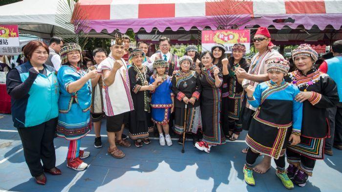 布農族射耳祭讓傳統文化祭儀在都會區得以傳揚保存。圖/桃園市政府新聞處提供