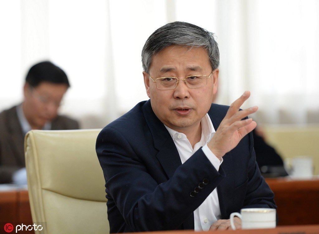 中國人民銀行黨委書記、銀保監會主席郭樹清。取自觀察者網