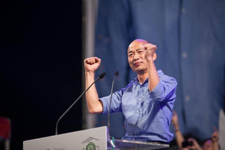 高雄市長韓國瑜今天表示當天將會「在凱道和大家站在一起」。圖/擷取自韓國瑜臉書