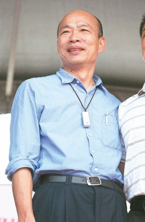 高雄市長韓國瑜昨天證實,六月一日將北上參加在凱道舉行的挺韓造勢大會。 記者劉學聖...