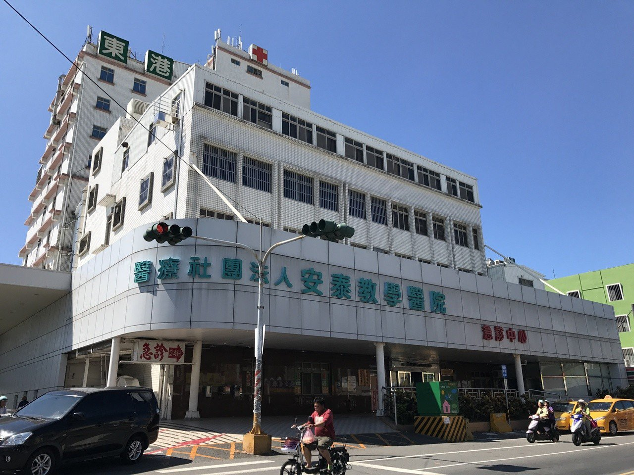 安泰醫院外觀。 聯合報系資料照/記者蔣繼平攝影