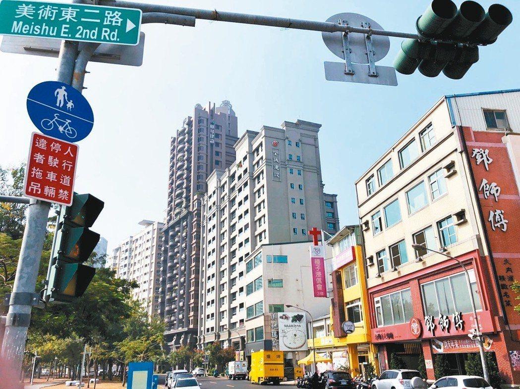 高雄能見度提高,房地產轉熱,商辦大樓需求也升溫。 記者林政鋒/攝影