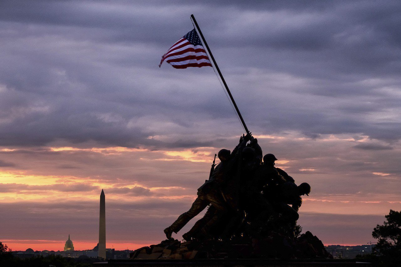 美國內戰戰場退燒,如今遊客人數逐漸下降。 美聯社