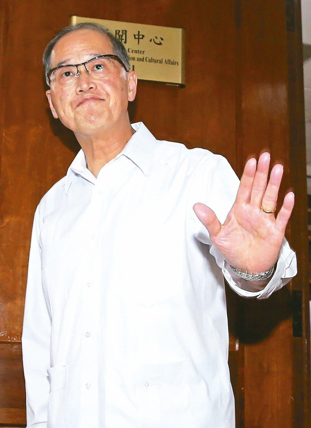 中華民國國家安全會議秘書長李大維(圖)會晤美國國家安全顧問波頓。 聯合報系資料照