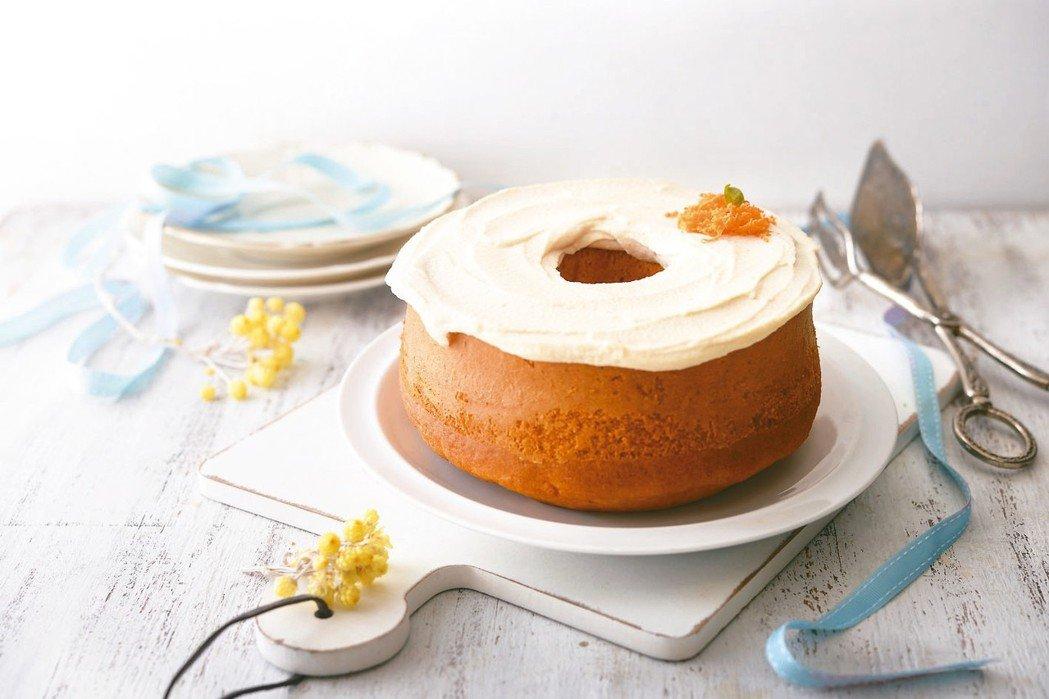 紅蘿蔔戚風蛋糕
