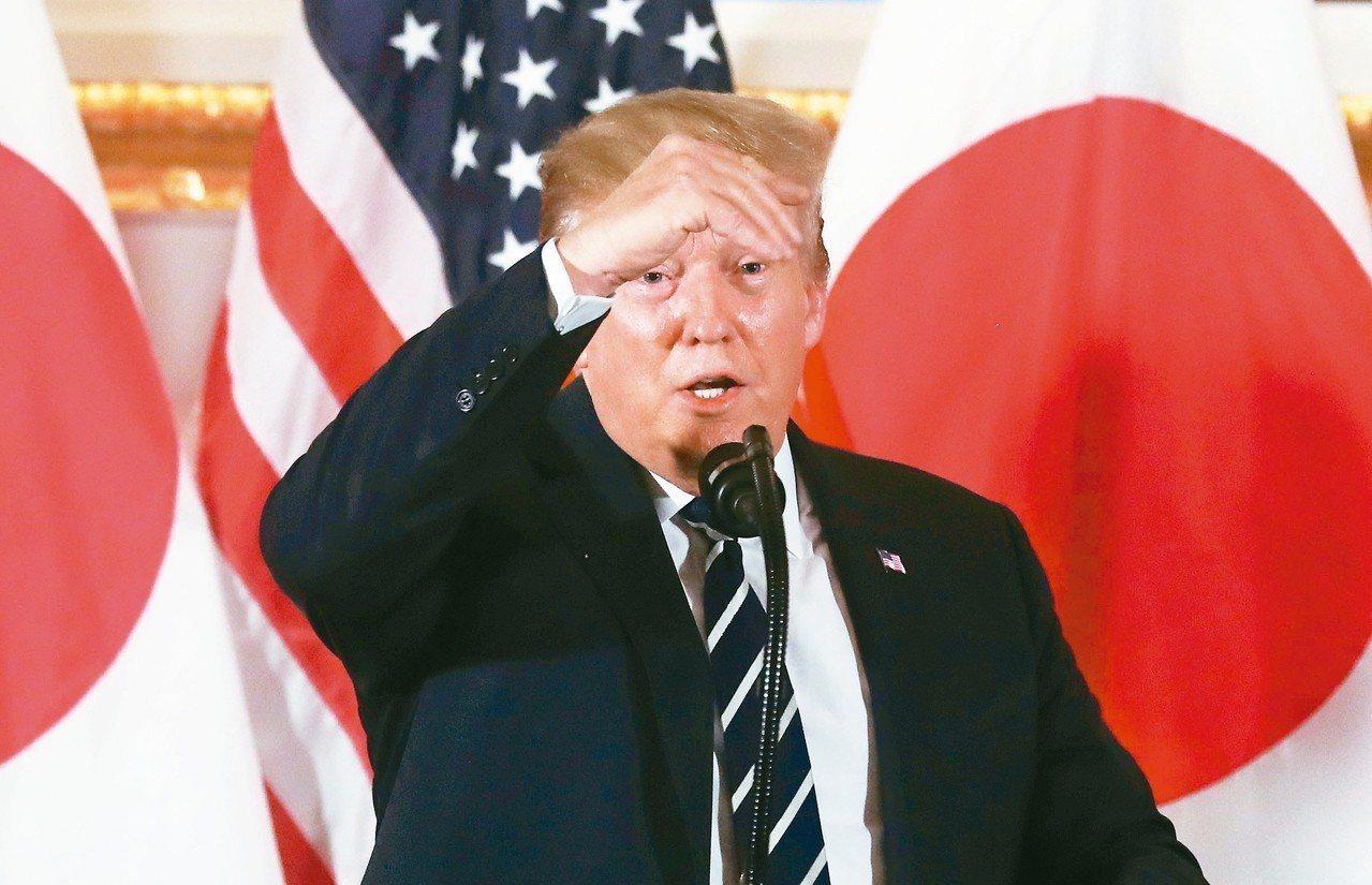 美國總統川普25日與日本企業家餐敘,點名豐田汽車社長豐田章男「你在哪裡?」。 路...