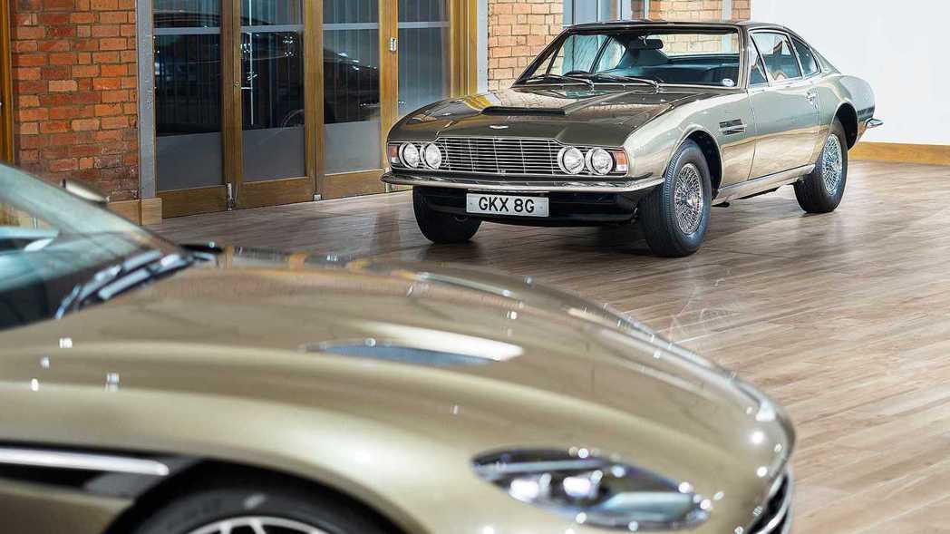 Aston Martin DBS在當時相當具有劃時代意義。 摘自Aston Ma...
