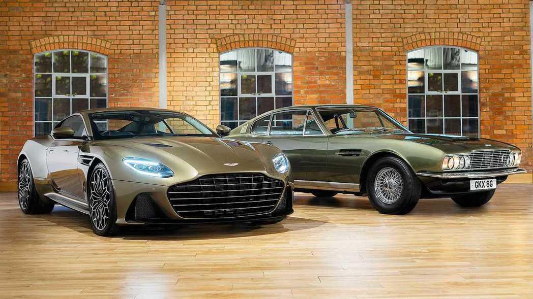 慶祝電影《007:女王密使》50周年推出的DBS Superleggera特別限...
