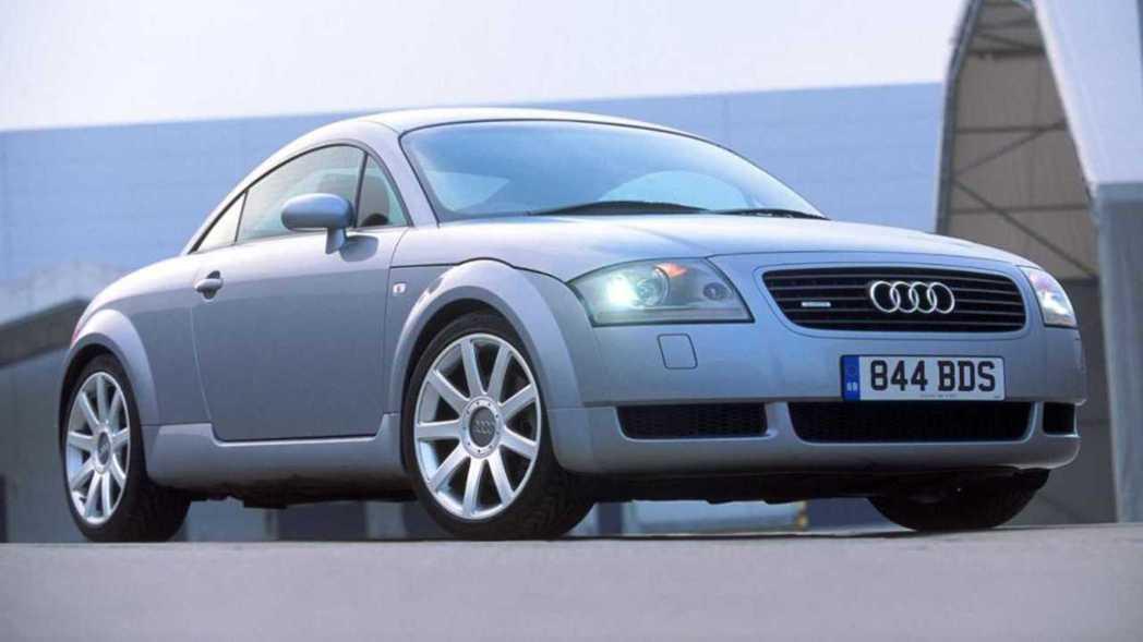 第一代Audi TT造型極為圓潤。 摘自Audi