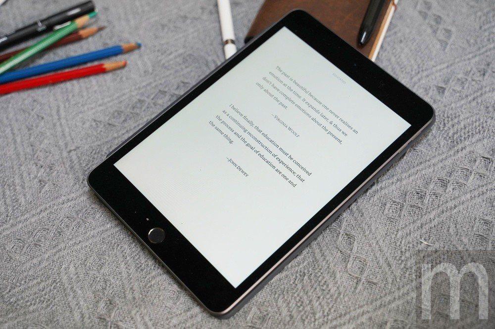 搭配近期開放的亞馬遜繁體中文數位書籍上線,2019年款iPad mini也能當作...