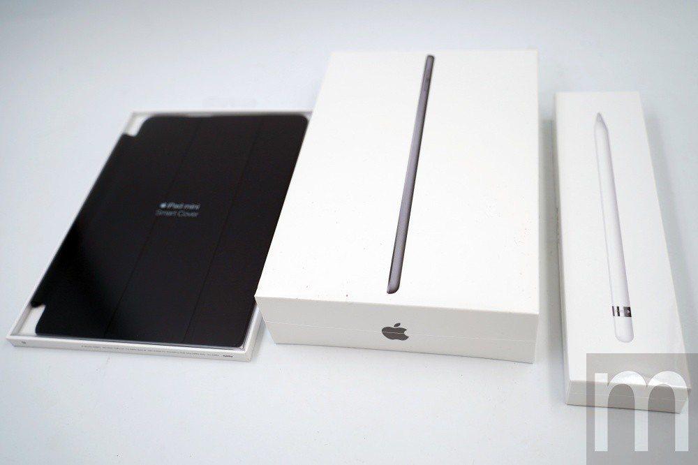 2019年款iPad mini,支援第一代Apple Pencil