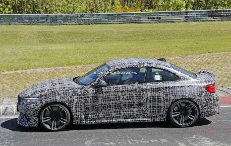 BMW M2 CS再度捕獲 大面積碳纖維套件上身
