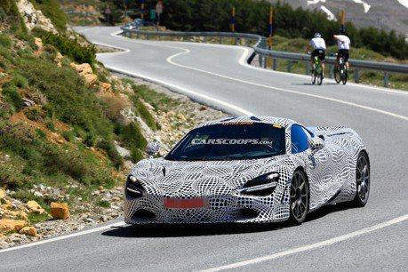 McLaren 720S Hybrid首度捕獲 走向油電首部曲!