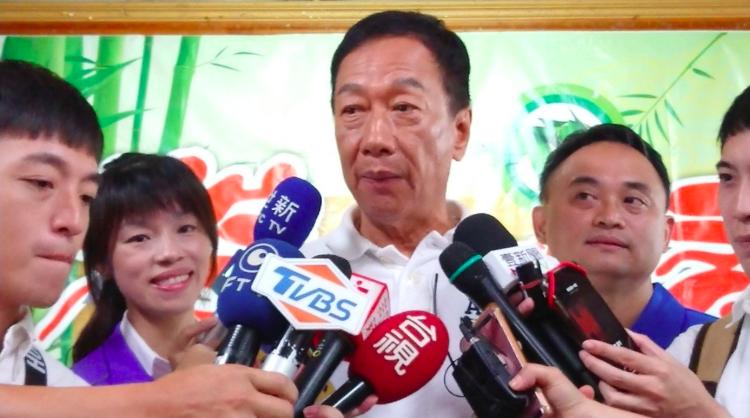 鴻海董事長郭台銘投入國民黨總統初選。本報資料照片