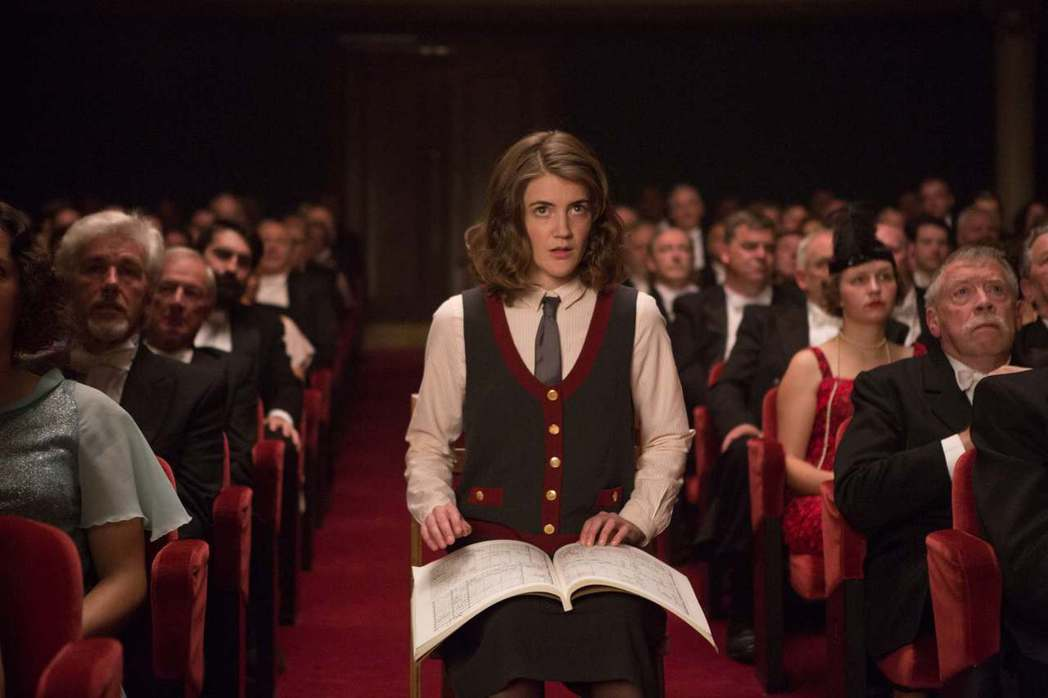 紐約愛樂樂團第一位女性指揮家勵志故事「首席指揮家」。圖/台北電影節提供