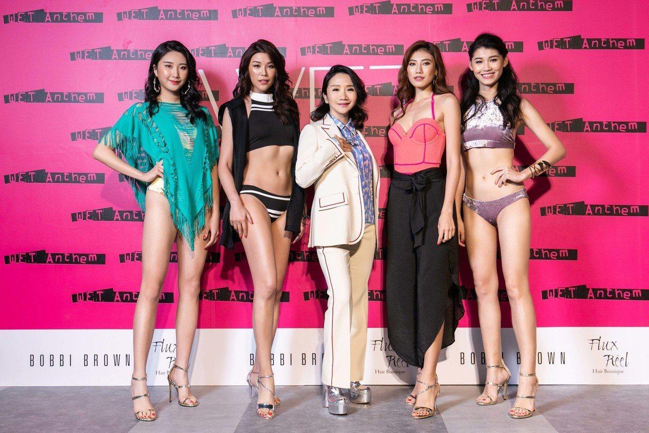 源自加州時尚精品泳裝品牌WET日前舉辦「2019 WET Anthem泳裝新品展...