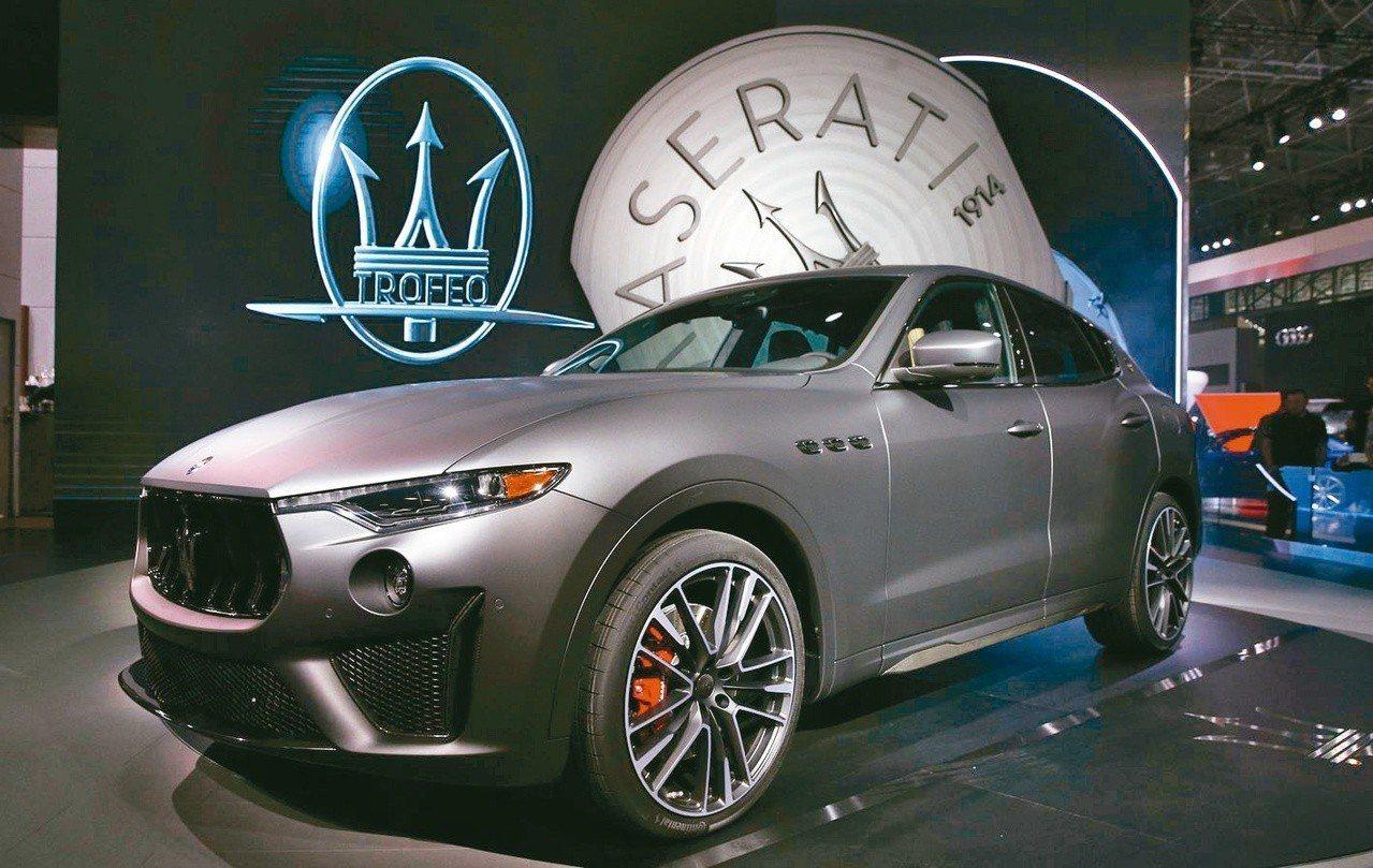 飛雅特克萊斯勒汽車旗下豪車品牌瑪莎拉蒂(Maserati)。路透