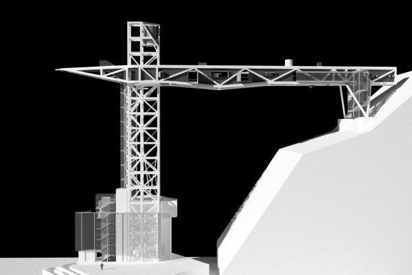 東岸基港大樓改建中,將來信四路會成為郵輪旅客進出的第二動線,信四路直走正對往中正...