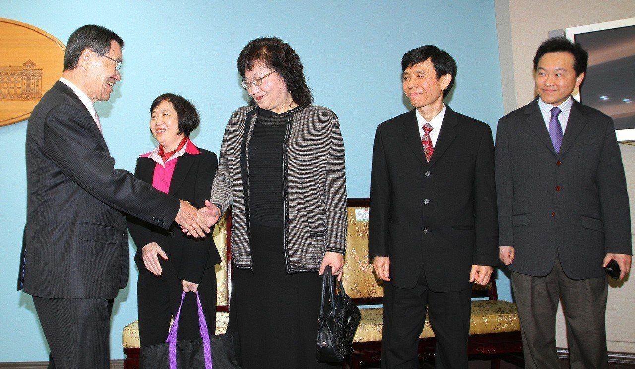 大法官陳碧玉(左二起)、黃璽君、羅昌發、湯德宗任期將在9月30日屆滿。圖/聯合報...
