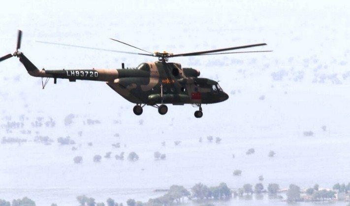 米-17系列直升機。圖/取自中新網