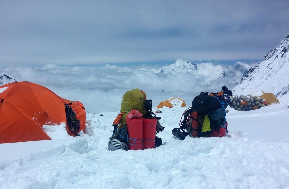尼泊爾政府今年一共發出381張登山許可證。(法新社)
