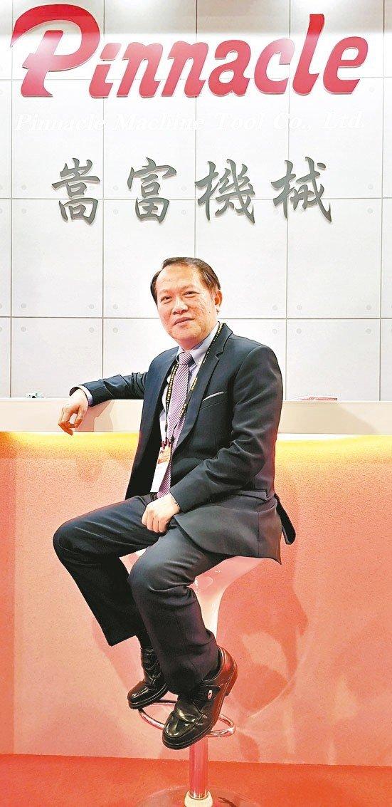 嵩富機械總經理謝東嬴。 魯修斌/攝影
