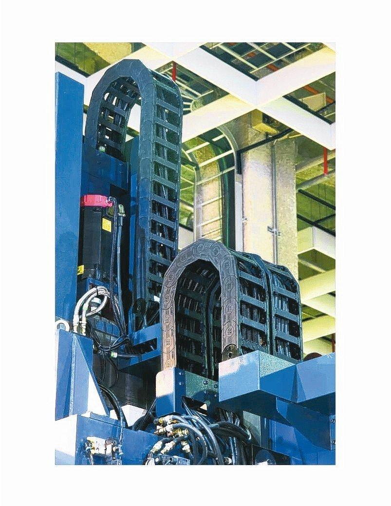 欣軍SINZ游動護管結合多項排列組合特點。 欣軍公司/提供