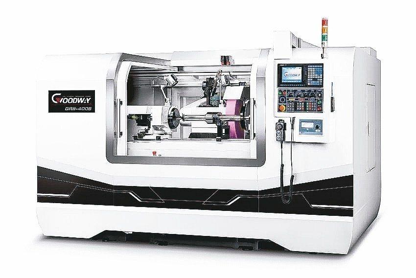 程泰機械新開發GRW系列走頭式CNC磨床。 程泰機械/提供