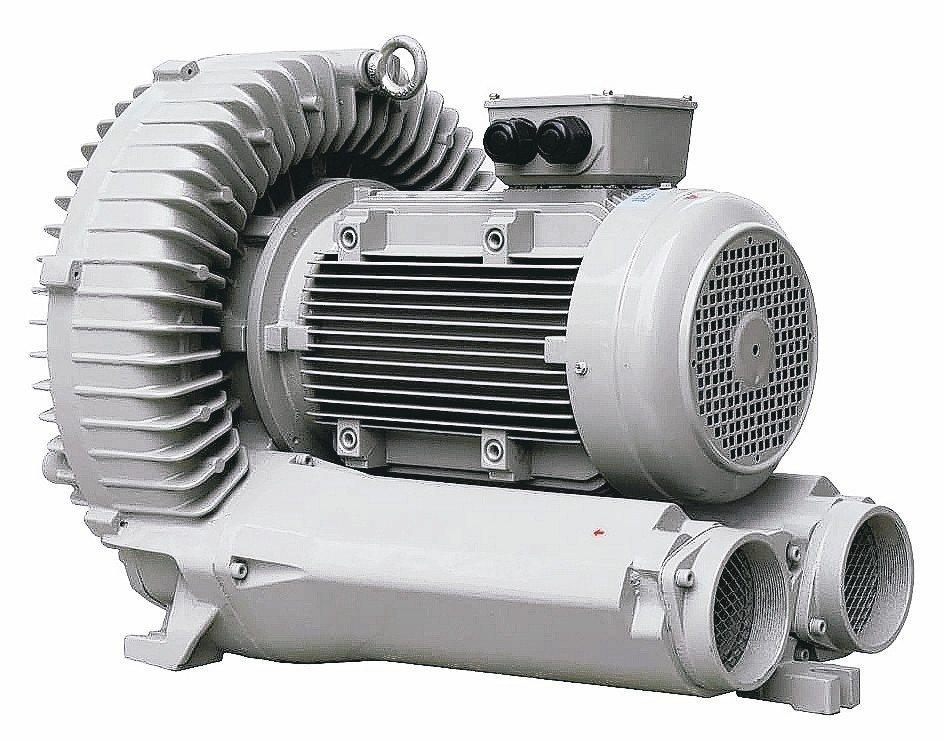 升圓公司推出高壓吸送風機。 升圓公司/提供