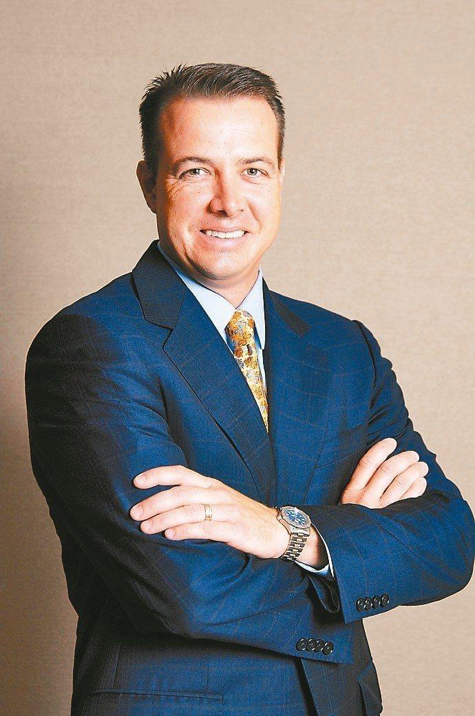 富蘭克林坦伯頓穩定月收益基金經理人愛德華.波克。 富蘭克林/提供