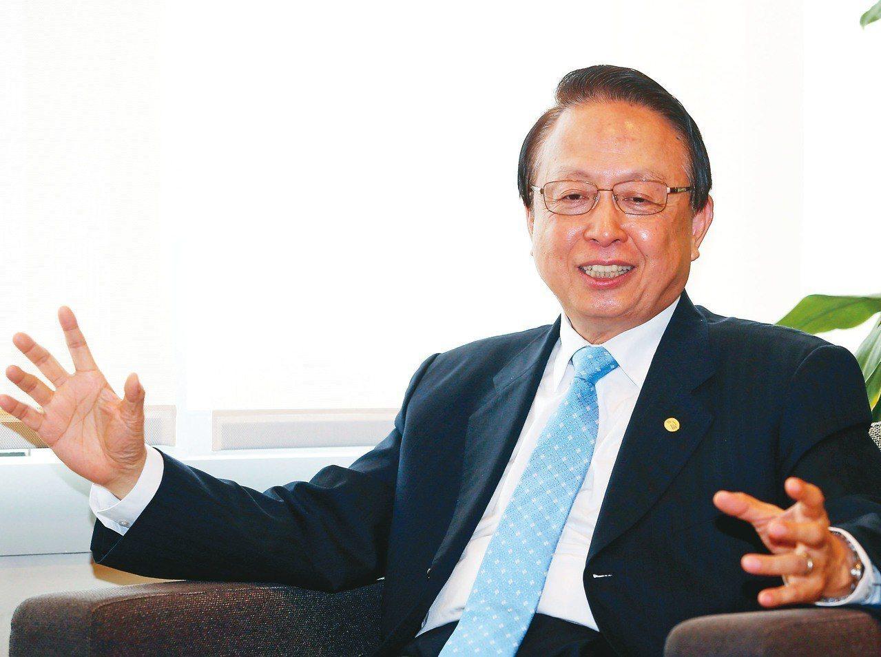 台灣高鐵公司董事長江耀宗 (聯合報系資料庫)