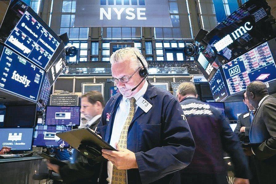 美股提防三隱憂導致市場出現第二波拋售潮。 路透