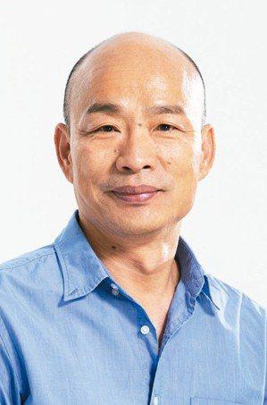 高雄市長韓國瑜 (聯合報系資料庫)
