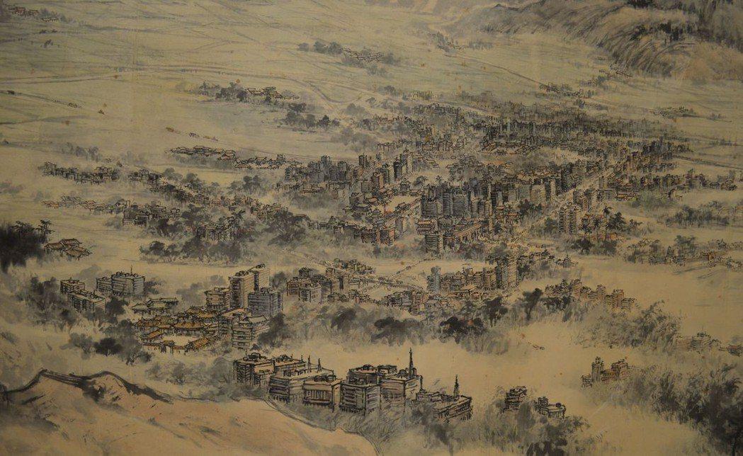 府城歷史核心區景象。  陳慧明 攝影