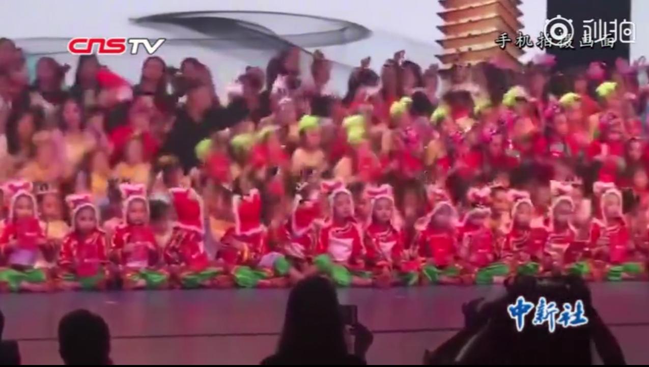 福建漳州開發區一場兒童舞蹈選拔活動,發生舞台坍塌事故,造成1名兒童死亡,14人輕...