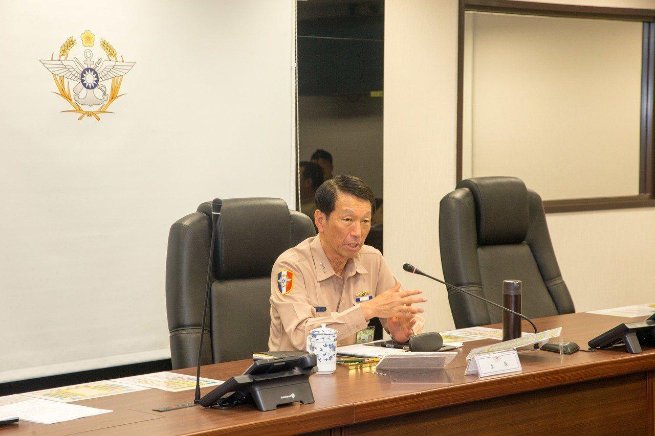 參謀總長李喜明。 聯合報系資料照(國防部提供)