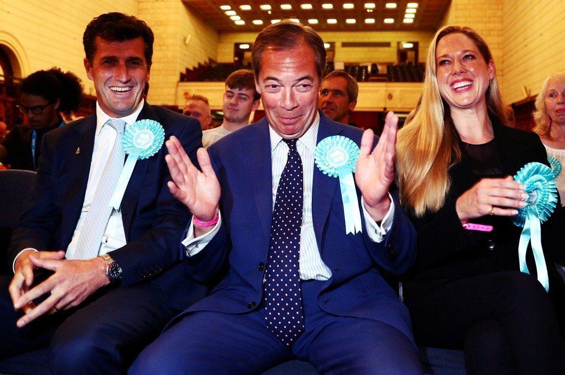 2019歐洲議會大選,英國「脫歐黨」恐成最大贏家? 圖/路透社