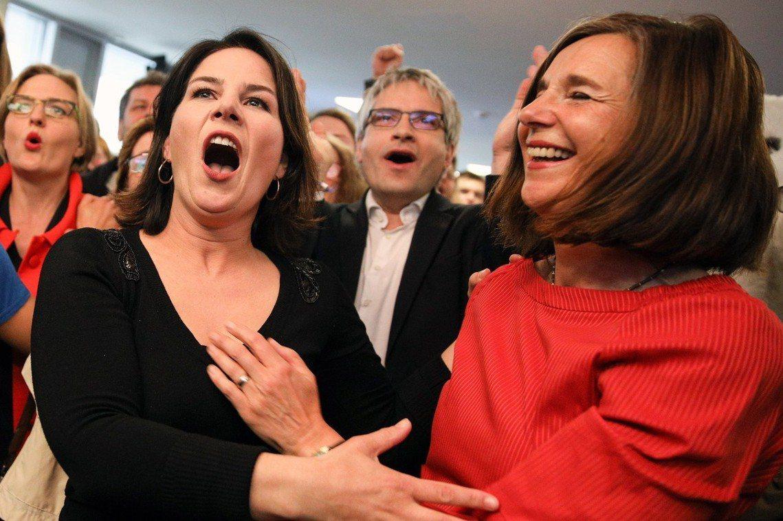 在德國方面,主打環保、社福與左翼政策的德國「綠黨」,以5%的大幅差距成為得票第二...