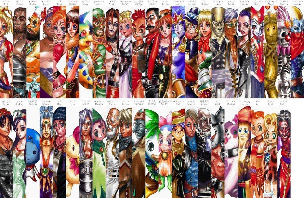 本作一共有 45 位角色可以供玩家使用操作。