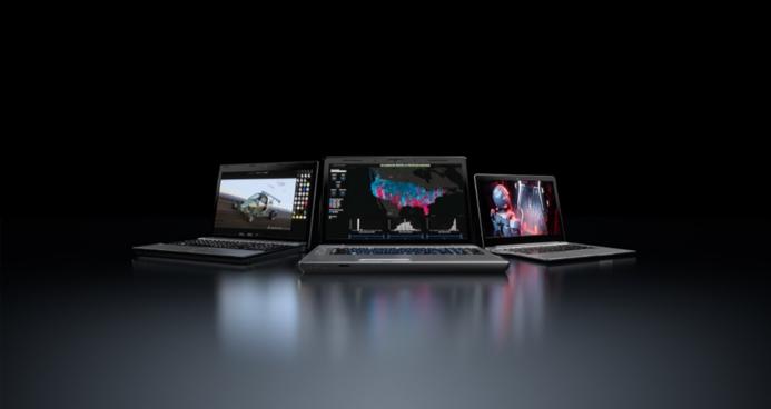 搭載NVIDIA Quadro RTX之全球功能最強大的行動工作站,可運行人工智...