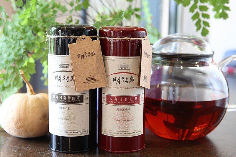 嚴選阿薩姆紅茶台茶八號400元/75g(左)/以印度阿薩姆Jaipuri品系單株...