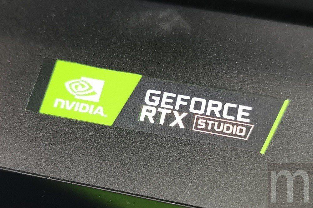 採用GeForce顯示卡設計的RTX Studio