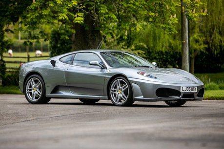 頂級廚師的Ferrari F430 竟然是稀有手排!