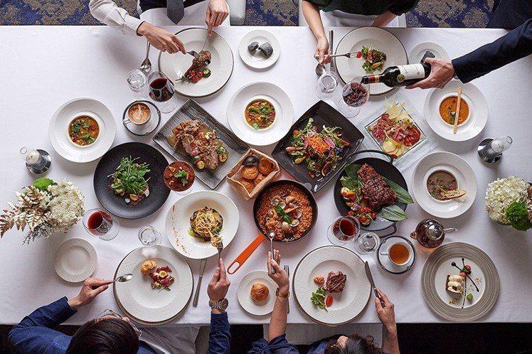 美福飯店推出義式家鄉分享餐,每套9,999元起,適合4人以上共享。圖/美福飯店提...