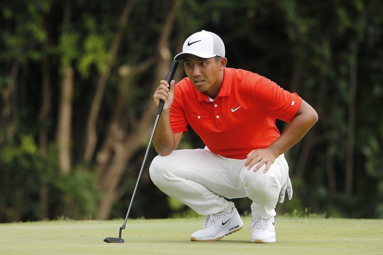 潘政琮最終以並列第三作收。 圖/PGA TOUR提供(資料照)