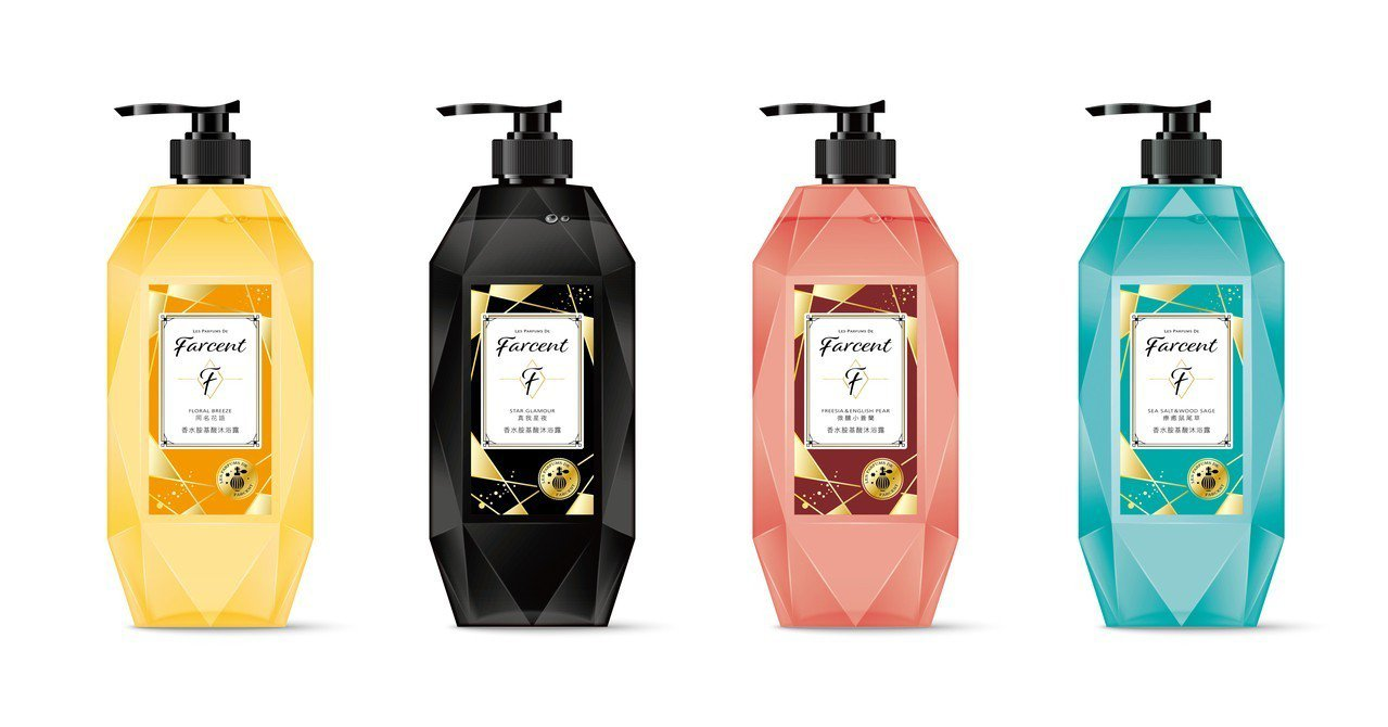 Les Parfums de Farcent香水胺基酸沐浴露-同名花語、真我星夜...